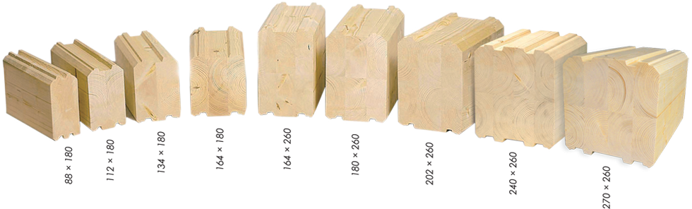 wooden logs for homes & cabins