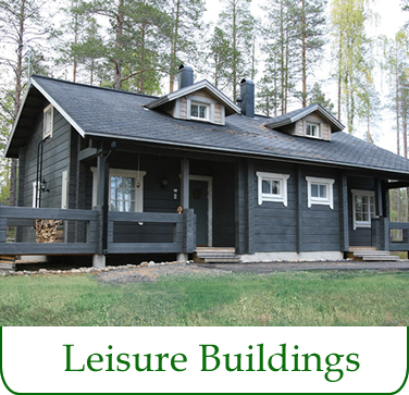 log saunas, garden, sheds, garages