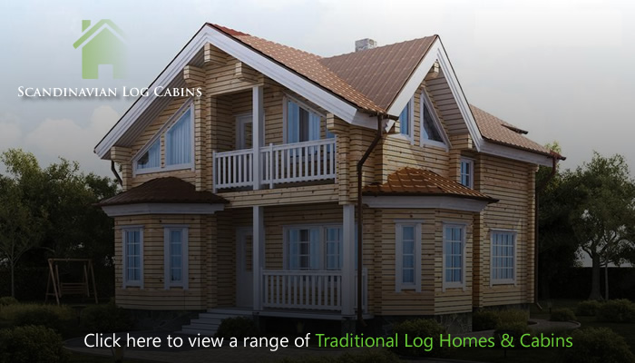 Scandinavian Log Cabins - Granny Annexes & Wooden cabins